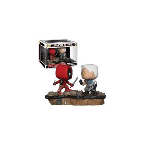 POP! Marvel: Movie Moments - Deadpool vs. Cable Vinyl Figure