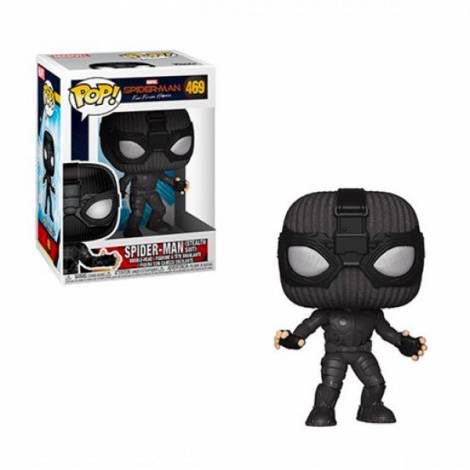 POP! MARVEL: SPIDER-MAN FAR FROM HOME - SPIDER MAN (STEALTH SUIT) #469 BOBBLE-HEAD VINYL FIGURE