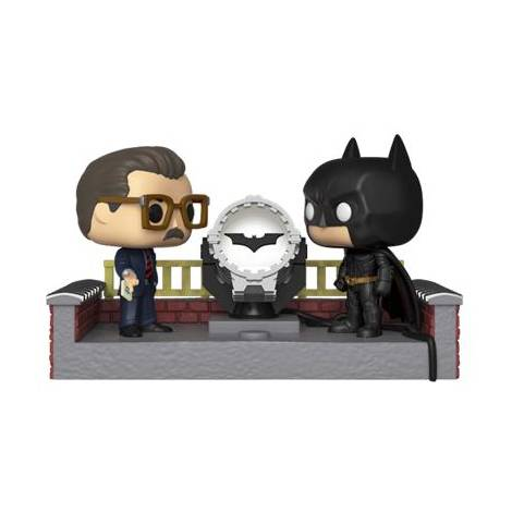 POP! Movie Moment: Batman 80th - w/ Light Up Bat Signal