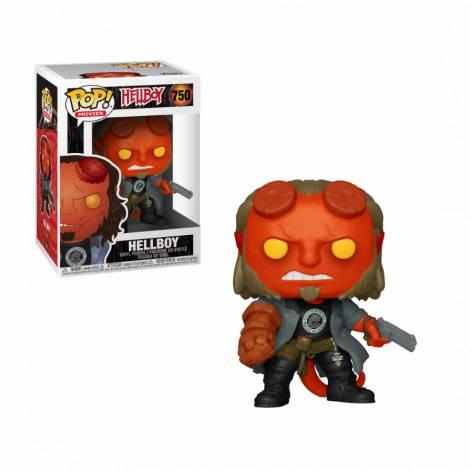 POP Movies: Hellboy - Hellboy with BPRD Tee #754