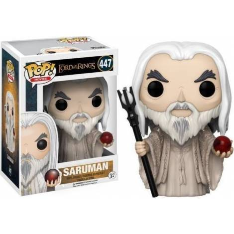 POP! Movies: The Lord Of The Rings - Saruman #447 Vinyl Figure