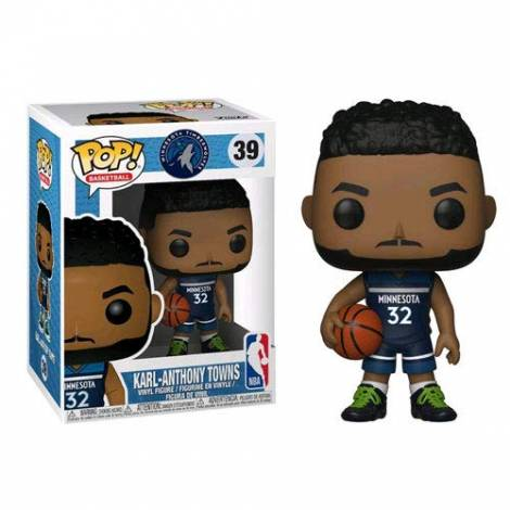 POP! NBA: Karl-Anthony Towns #39 Vinyl Figure