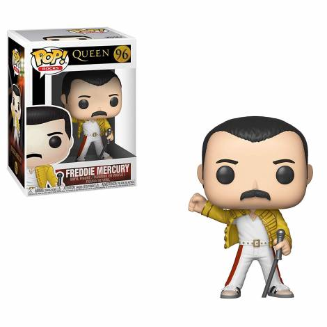 POP! Rocks: Queen - Freddie Mercury Wembley 1986 #96 Vinyl Figure