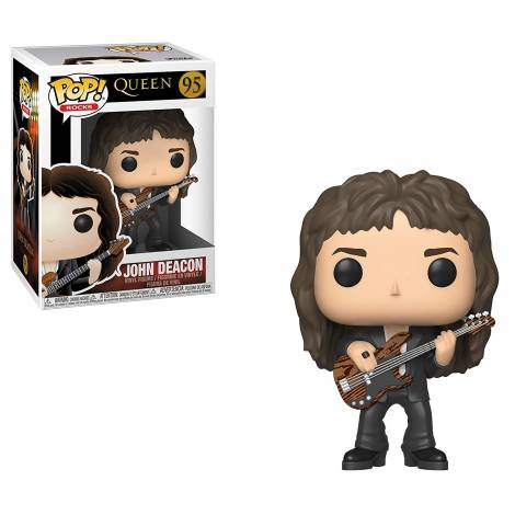 POP! Rocks: Queen - John Deacon #95 Vinyl Figure