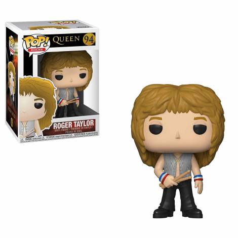 POP! Rocks: Queen - Roger Taylor #94 Vinyl Figure