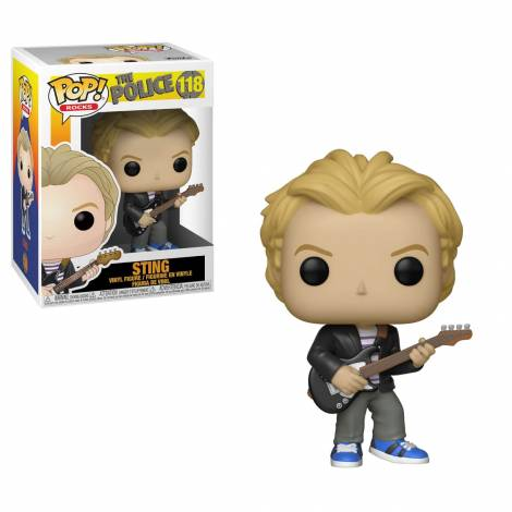 POP! Rocks - The Police - Sting #118 Vinyl Figure