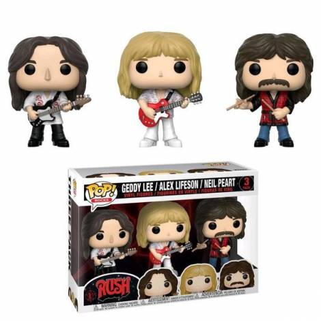 POP! Σετ Φιγούρες Vinyl Geddy, Alex, Neil (Rush) – Funko #32682
