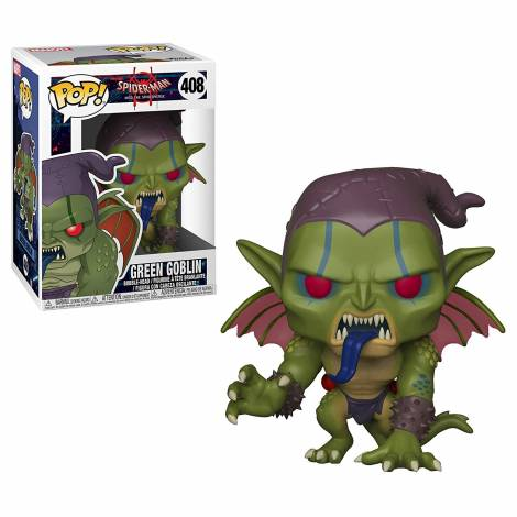 POP! Spider-Man Into the Spider-Verse: Green Goblin #408 Bobble-Head Figure