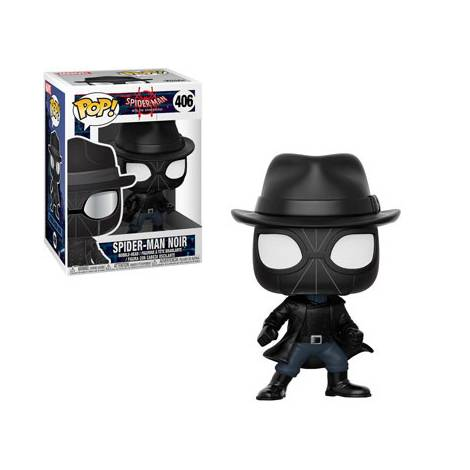 POP! Spider-Man Into the Spider-Verse: Spider-Man Noir #406 Bobble-Head Figure