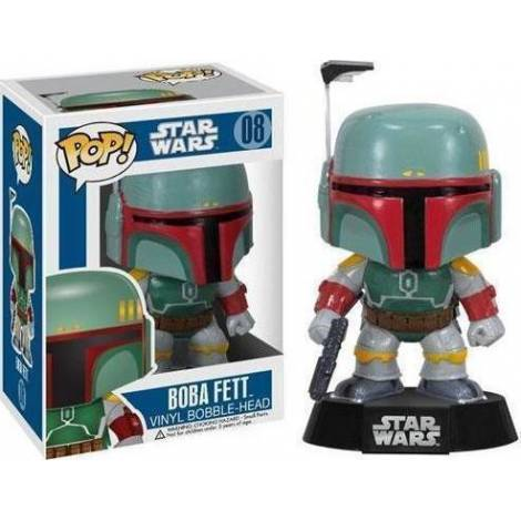 POP! STAR WARS - BOBA FETT #08 VINYL BOBBLE-HEAD FIGURE