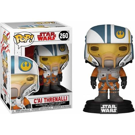 POP! Star Wars - C'ai Threnalli #260 Vinyl Bobble-Head Figure