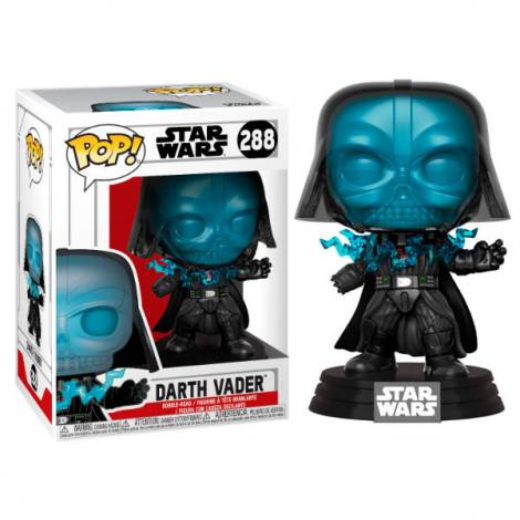 POP!  Star Wars: Electrocuted Vader #288 Bobble-Head Figure