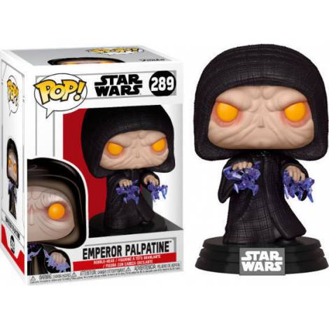 POP! Star Wars: Emperor Palpatine #289 Bobble-Head Vinyl Figure