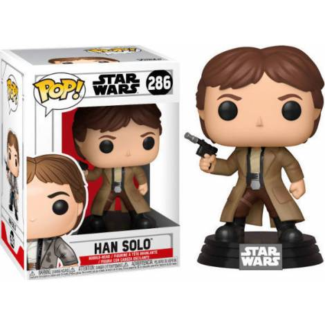 POP! Star Wars - Han Solo #286 Bobble-Head Vinyl Figure