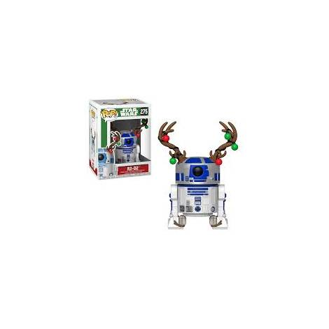 POP! Star Wars: Holiday R2-D2 with Antlers #275 Bobble-Head Vinyl Figure