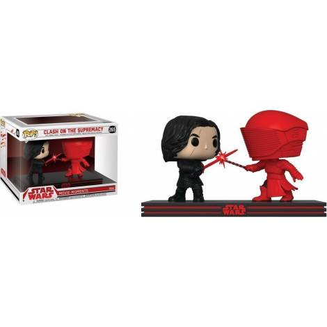 POP! Star Wars: Movie Moments - Clash on the Supremacy (Kylo & Praetorian Guard) #265 Vinyl Bobble-Heads Figures