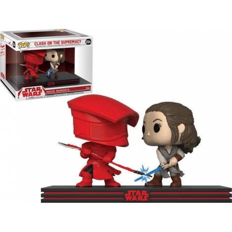 POP! Star Wars: Movie Moments - Clash on the Supremacy (Rey & Praetorian Guard) #264 Vinyl Bobble-Heads Figures