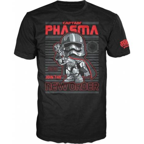 POP! TEES: STAR WARS - CAPTAIN PHASMA LIMITED EDITION #55 (UNISEX L or XL) SHORT SLEEVE T-SHIRT