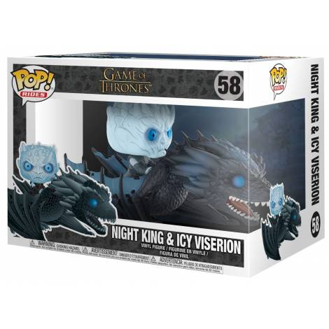 Pop! Television: Night King On Dragon #58 Figure