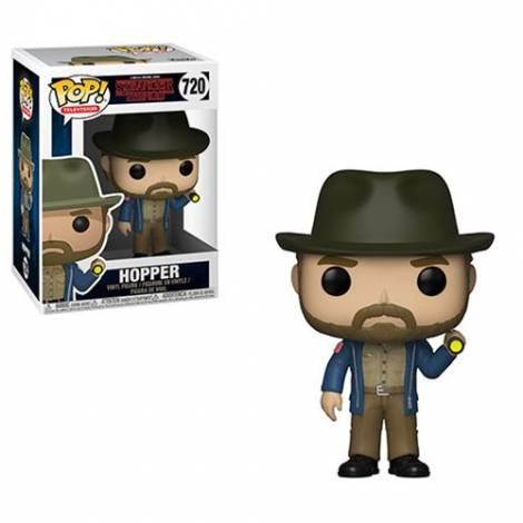 POP! Television: Stranger Things - Hopper with Flashlight #720 Vinyl Figure