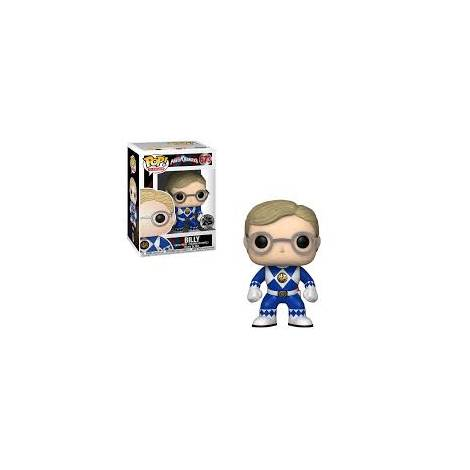 POP! Vinyl: Power Rangers: Blue Ranger (No Helmet) Vinyl Figure