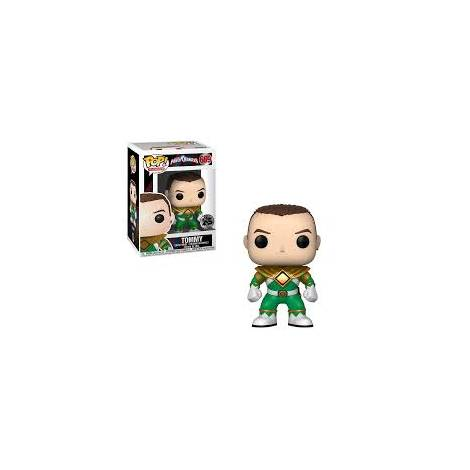 POP! Vinyl: Power Rangers: Green Ranger (No Helmet) Vinyl Figure