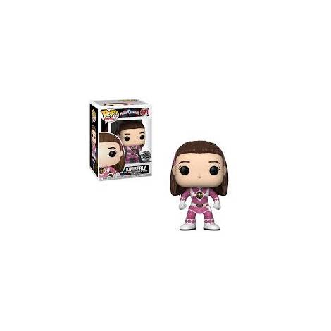 POP! Vinyl: Power Rangers: Pink Ranger (No Helmet) Vinyl Figure