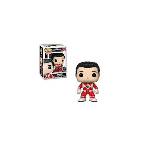 POP! Vinyl: Power Rangers: Red Ranger (No Helmet) Vinyl Figure