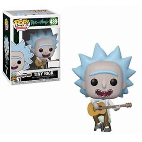 POP! Vinyl: Rick & Morty: Tiny Rick w/ Guitar #489 Vinyl Figure