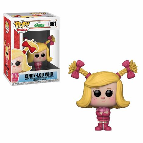 POP! Vinyl: The Grinch 2018: Cindy-Lou Who #661 Vinyl Figure