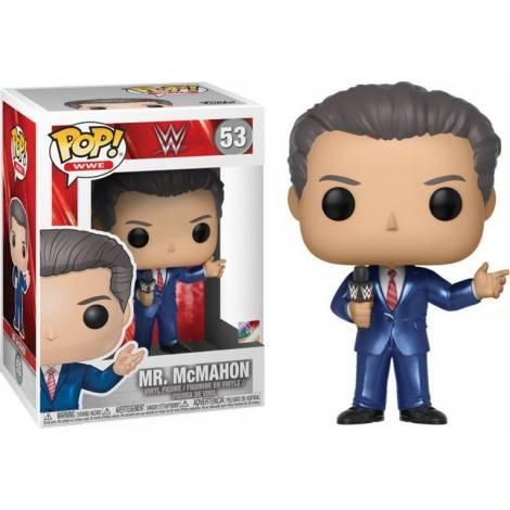 POP! WWE - Mr. McMahon (In Suit)* #53 Vinyl Figure