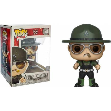 POP! WWE - Sgt. Slaughter #54 Vinyl Figure