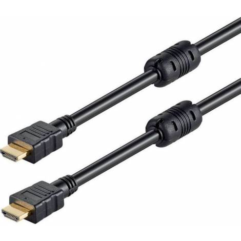 Powertech HDMI 1.4 Cable with Ethernet HDMI male - HDMI male 1.5m (CAB-H029)