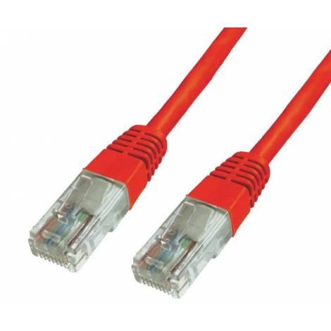 POWERTECH Καλώδιο δικτύου UTP Cat 6e, 5m, Red (CAB-N013)