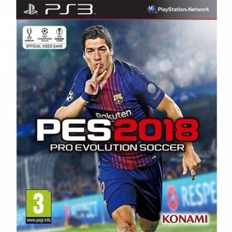 Pro Evolution Soccer 2018 (Ελληνική εκφώνηση) (PS3)