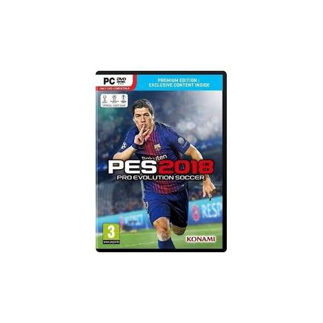 Pro Evolution Soccer 2018 & δώρο Speedlink SL-6242 Mousepad (PC)