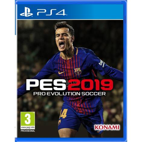 Pro Evolution Soccer - Με Ελληνική Εκφώνηση 2019 - D1 Edition (PS4)