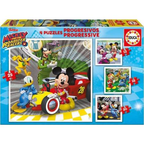 Progressive Mickey 48pcs (17629) Educa