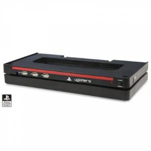 PS3 4GAMERS OFFICIALLY LICENSED HORIZONTAL STAND 'N' USB HUB