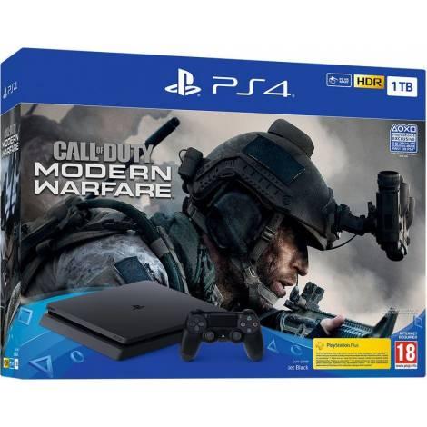 PS4 CONSOLE 1TB  & CALL OF DUTY MODERN WARFARE