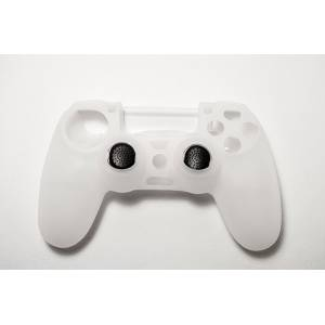 PS4 SPARTAN GEAR CONTROLLER SILICONE SKIN COVER (2 x CONTROLLER THUMB GRIPS INCLUDED) (PS4)