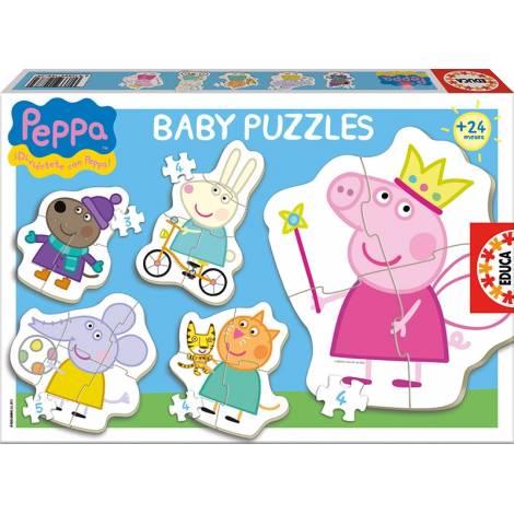 Educa Puzzle BABY  DISNEY PEPPA  (15622)