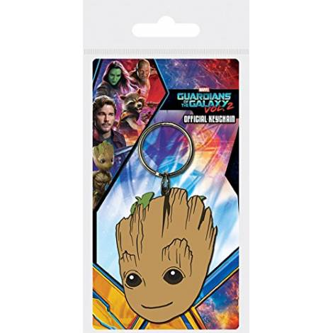 Pyramid Guardians of the Galaxy Vol. 2 - Baby Groot Rubber Keychain (RK38648C)