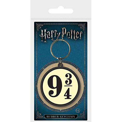 Pyramid Harry Potter - 9 And Three Quarters Rubber Keychain (RK38475C)