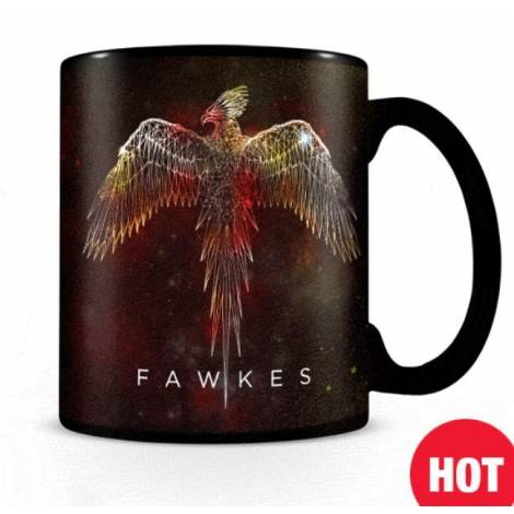 Pyramid Harry Potter Fawkes Heat Change Mug (SCMG25060)