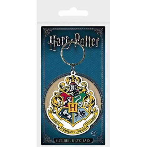 Pyramid Harry Potter - Hogwarts Crest Rubber Keychain (RK38453C)