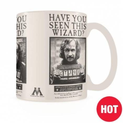 Pyramid Harry Potter (Wanted Sirius Black) Heat Change Mug (SCMG25012)