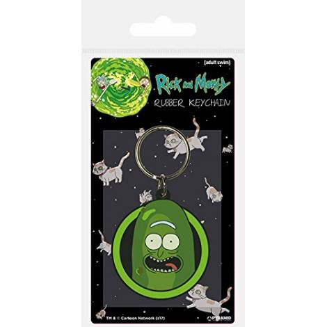 Pyramid Rick And Morty - Pickle Rick Rubber Keychain (RK38772C)