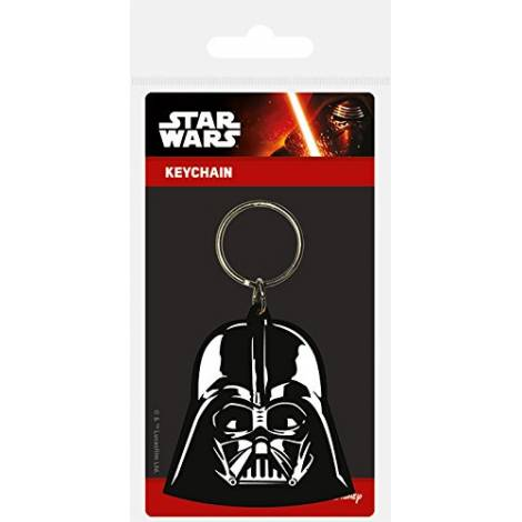 Pyramid Star Wars - Darth Vader Rubber Keychain (RK38341C)