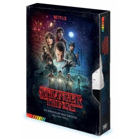 Pyramid Stranger Things - VHS Premium A5 Notebook (SR72775)